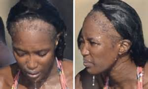 hair styles for people with no edges naomi cbell s shocking bald patches after years of