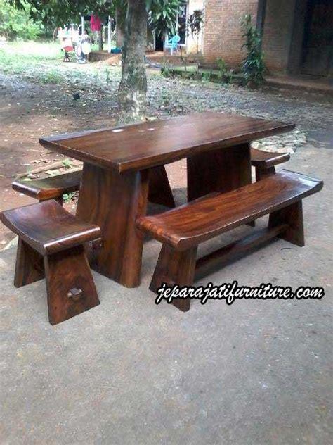 Makan Meja Raja Kuring meja kursi sate trembesi jepara jati furniture