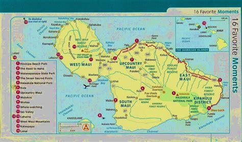 printable road map of hawaii printable map of maui printable maps