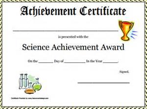 achievement certificate templates sle certificate 32 documents in word pdf psd