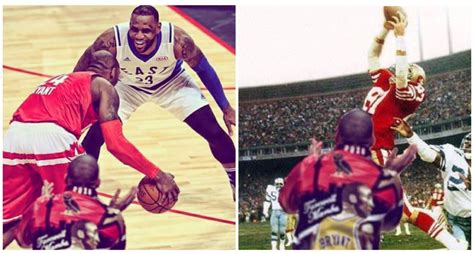 Drake Lebron Meme - drake ruins iconic sports pictures throughout history