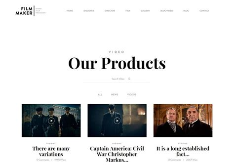 multiple themes in film 10 best wordpress video themes for 2016