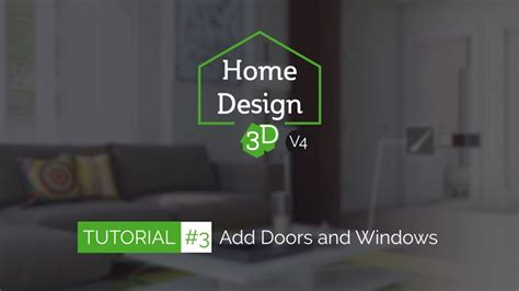 home design 3d youtube home design 3d tuto 3 add doors and windows youtube