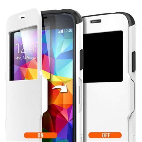Spigen Slimarmor Samsung Galaxy S5 S 5 Slim Armor Hardcase spigen samsung galaxy s5 slim armor view smooth white