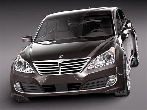 Hyundai Luxury Models by 2014 Sedan Luxury 3d Model