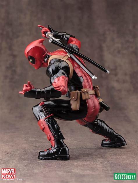 Black Widow Artfx Statue Kotobukiya Pvc kotobukiya mostra figure do personagem deadpool marvel