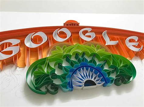 indian independence doodle tricolor doodle to celebrate 70 years of independence