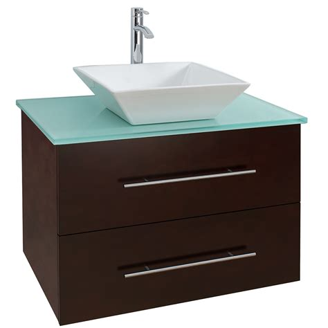 30 Modern Bathroom Vanity by 30 Quot Wall Mounted Modern Bathroom Vanity Espresso