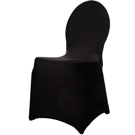 spandex chair covers black shop black lycra chair covers 210gsm chair covers