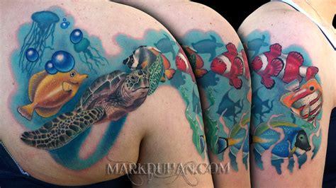 underwater tattoo underwater by amduhan on deviantart