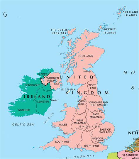 map uk and sac to 1682