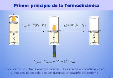 energia interna termodinamica termodin 225 mica qu 237 mica presentaci 243 n powerpoint
