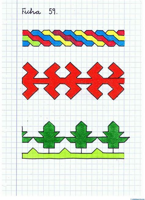 web del maestro figuras geometricas dibujos cuadriculados web del maestro