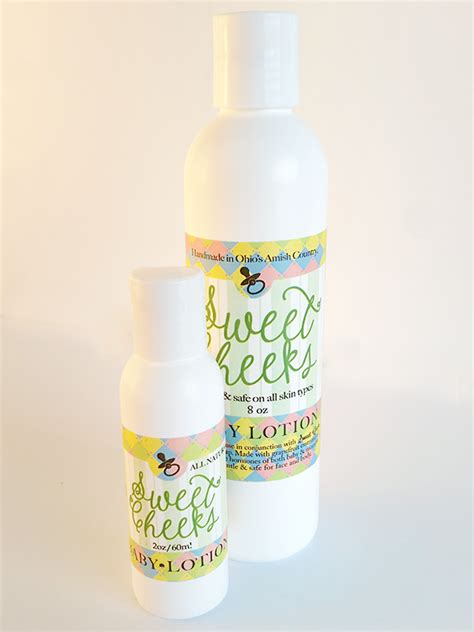 Come Here Sweet Cheeks Product by Sweet Cheeks Baby Lotion Amish Country Soap Co