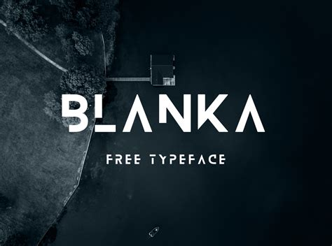design font free blanka font befonts com