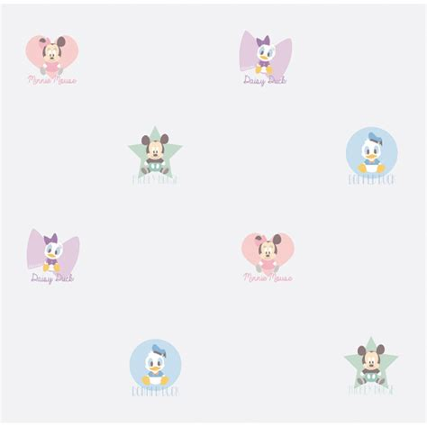 disney nursery wallpaper uk galerie official disney baby mickey minnie mouse childrens