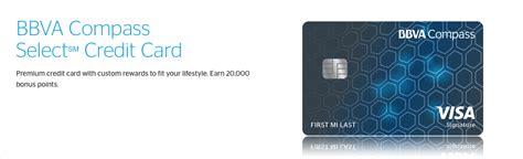 compass credit bbva compass select credit card 200 bonus offer