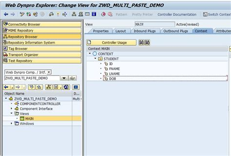layout web dynpro abap multi copy paste from excel to web dynpro abap sap blogs