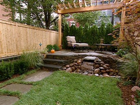 Patio Ideas For Small Backyards with Serenity In Design Small Backyard Solutions
