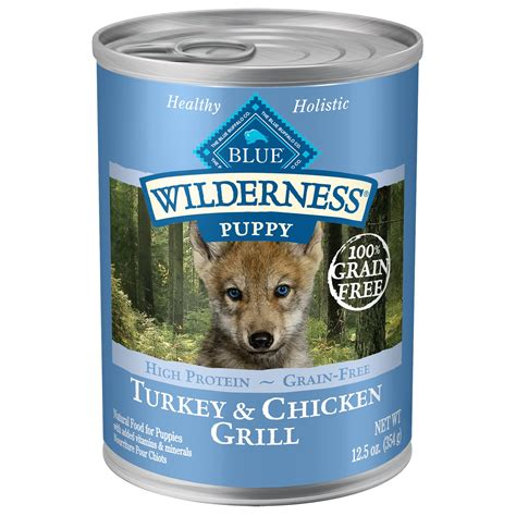 blue buffalo wilderness puppy blue buffalo wilderness turkey chicken canned puppy food petco