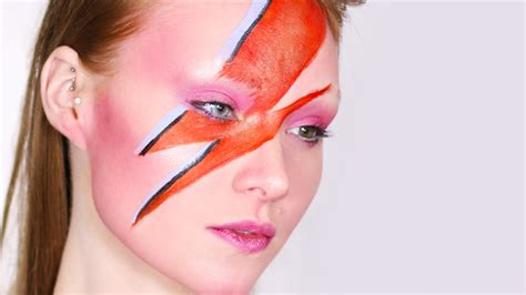 david bowie aladdin sane tribute makeup tutorial youtube