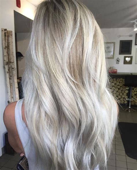 pictures of blonde hair with silver highlights best