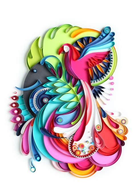 design art l paper art jungles and quilling on pinterest