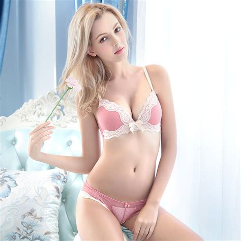 Vs Set Sazkia bra set intimates embroidery lace cup