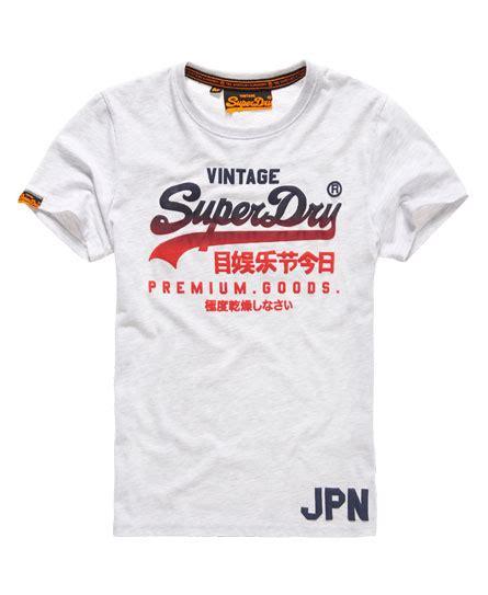 Tshirt Superdry mens premium goods t shirt in marl superdry