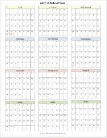 Calendar 2018 Qut The Best Free Printable Academic Calendar For 2017 2018