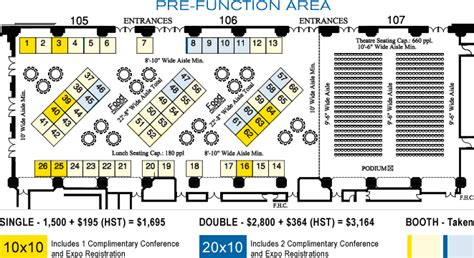 metro toronto convention centre floor plan 14th canadian conference on building science and