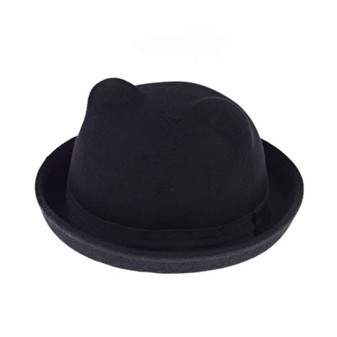 cat bowler hat kids cat ear bowler hat all gifts for kids inspire me