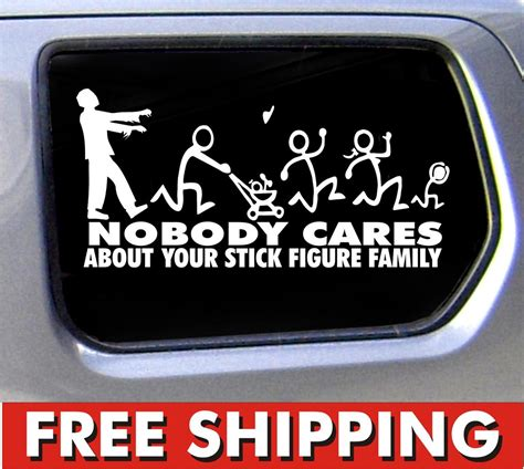 Aufkleber Lkw by Family Nobody Cares Truck Stickers Car Decal Bumper