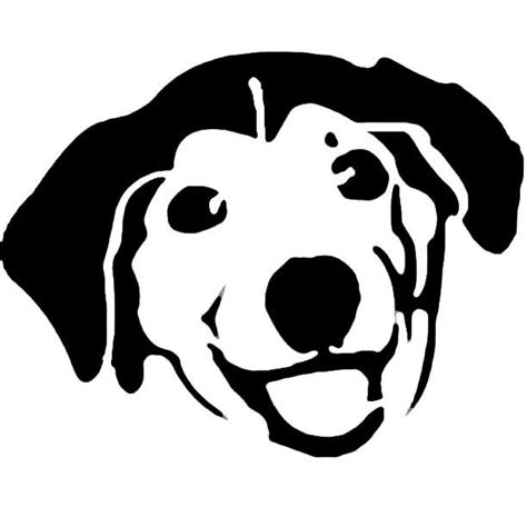 advice dog stencil template stencil templates pinterest