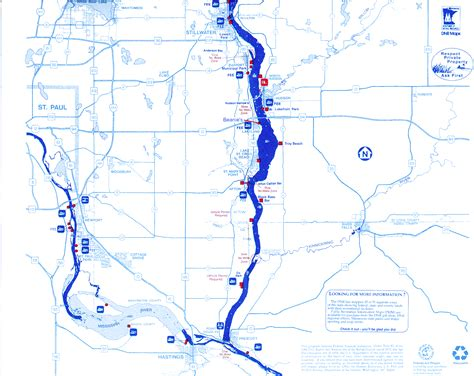 st river map st croix river map