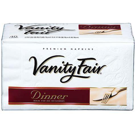 vanity fair dinner napkins 40 on shopsavvy