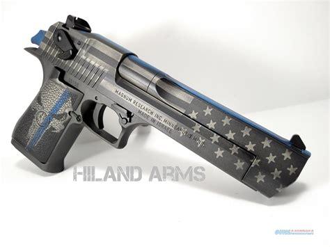 themes ltd real blue handguns mk vii desert eagle thin blue line cerakote for sale