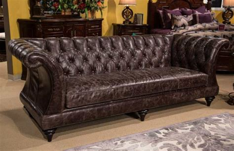 What Is Top Grain Leather Sofa Aico Chelsea Top Grain Leather Sofa Aico Living Room Furniture