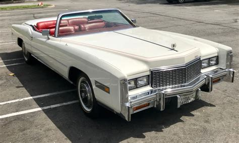 1976 Cadillac Eldorado Convertible by 1976 Cadillac Eldorado Convertible For Sale On Bat