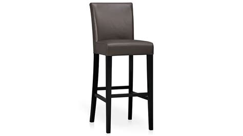 Lowes Bar Stools 24 by Lowe Smoke Leather Counter Stool Crate And Barrel