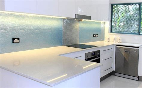 glass splash backs customcote glass