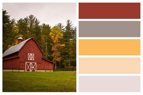 fall color palettes for interior home painting central
