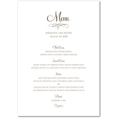 best photos of free printable menu templates free