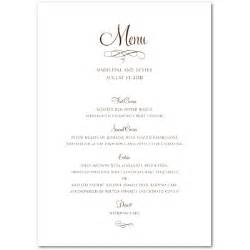 free printable dinner menu templates best photos of free printable menu templates free