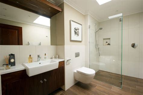 small bathroom tile ideas  transform  cramped space