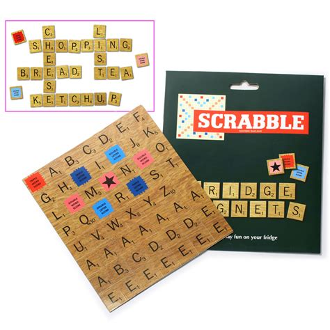 scrabble magnets scrabble fridge magnet set s of kensington