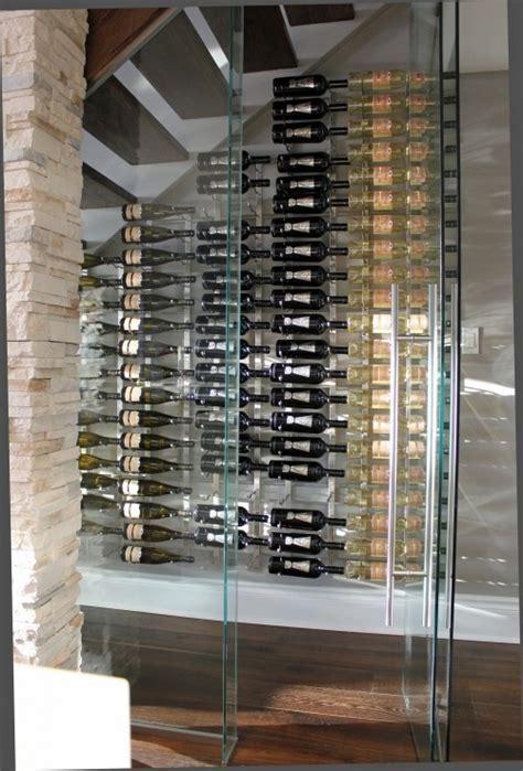 modern wine cellar under stairs. dream!   Interiors