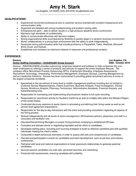 personal qualities to put on a resume resume ideas