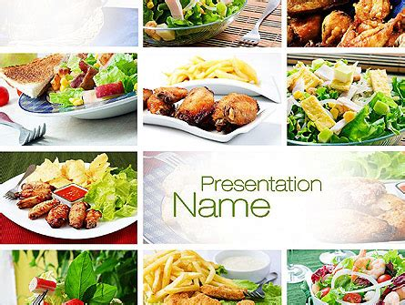 free powerpoint templates food and beverage http www pptstar powerpoint template recipes