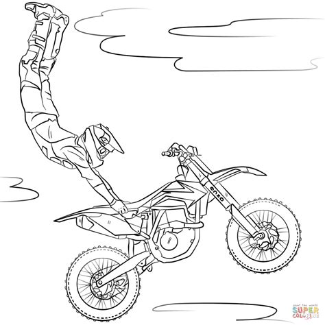 card dirt bike coloring templates dirt bike coloring pages printable printable coloring page